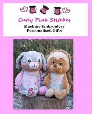 Curly Pink Stitches