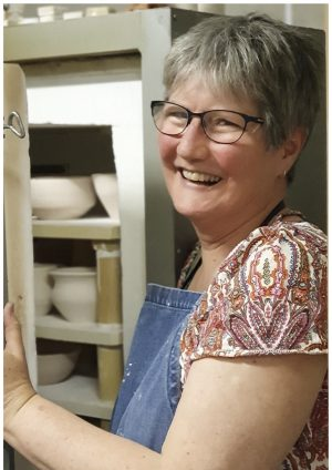 Heather Humphreys: your tutor at Lake Cathie Pottery